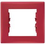 Рамка 1-пост, красная