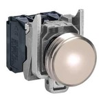 Светосигнальная арматура  белая для ламп  до 50 В.