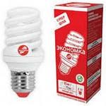 Лампа Энергосберегающая  ECONOM SPC15WE2742  Т2  холодный свет