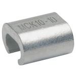 MCK1010 С-образный медный зажим для соединения двух жил разного сечения KLAUKE