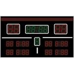 Спортивное табло для хоккея №2, модель ТС-350х4_270х5_210х20_РБС-120-192х8b
