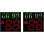 Табло времени атаки ТВА №4. Модель ТВА-350х2_080-8х8b.