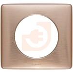 Рамка 1 пост, цвет медь, серия Celiane, пр-во Legrand