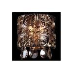 Накладной светильник Eurosvet 3400/2 золото/тонированный хрусталь Strotskis