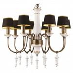 Подвесная люстра Arte Lamp Fortezza A1843LM-8BG