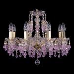Подвесная люстра Bohemia Ivele Crystal 1410/8/160/G/7010