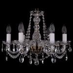 Подвесная люстра Bohemia Ivele Crystal 1402/6/160/Pa
