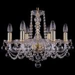 Подвесная люстра Bohemia Ivele Crystal 1402/6/160/G/Balls