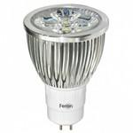 Лампа светодиодная Feron GU5.3 230В 5Вт 4000K LB-108 25192