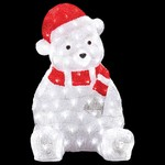 Зверь световой Неон-Найт (56 см) Медвежонок в красном колпаке 513-240