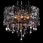 Подвесной светильник Eurosvet 3400/5 хром/дымчатый хрусталь Strotskis