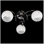 Потолочная люстра Eurosvet 7769/3 черный жемчуг