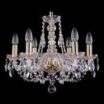 Подвесная люстра Bohemia Ivele Crystal 1406/6/160/G
