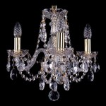 Подвесная люстра Bohemia Ivele Crystal 1406/3/141/G