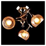 Люстра на штанге Eurosvet 3353/3Н золото/коричневый