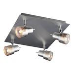 Спот Eurosvet 23938/4 хром/алюминий