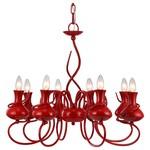 Подвесная люстра Arte Lamp Vaso A6819LM-8RD
