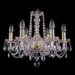 Подвесная люстра Bohemia Ivele Crystal 1402/6/160/G