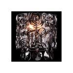 Накладной светильник Eurosvet 3400/2 хром/дымчатый хрусталь Strotskis