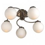 Люстра на штанге Arte Lamp Cloud A8170PL-5SS