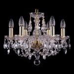 Подвесная люстра Bohemia Ivele Crystal 1406/6/141/G