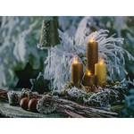 Панно световое Feron (40х30 см) Золотые свечи 26972