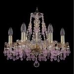 Подвесная люстра Bohemia Ivele Crystal 1410/6/160/G/7010