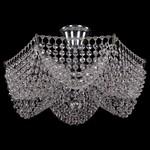 Люстра на штанге Bohemia Ivele Crystal 7708/3/Ni