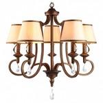 Подвесная люстра Arte Lamp Castello A6016LM-5BG