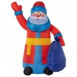 Дед Мороз световой Неон-Найт (1.8 м) с подарком NN-511 511-206