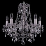 Подвесная люстра Bohemia Ivele Crystal 1411/5/160/Ni