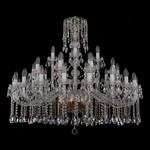 Подвесная люстра Bohemia Ivele Crystal 1413/20+10+5/400/G