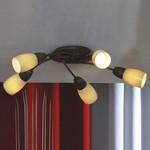 Потолочная люстра Lussole Cevedale LSQ-6917-05