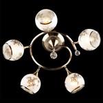 Накладной светильник Eurosvet 9611/5 античная бронза/белый