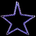 Звезда световая Неон-Найт (60x60 см) 501-514