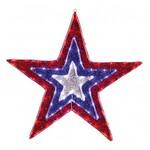 Звезда световая Неон-Найт (91x91 см) 514-022