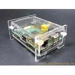 Clear Raspberry Pi Enclosure Kit