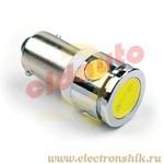 Лампа автомобильная LEDL1130 под цоколь T85 BA9S 1155T4W H6W white BL2