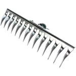 Садовые грабли raco 370 мм, система быстрого присоединения q-c, 4230-53848