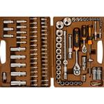 """Набор инструмента для автомобиля с 12-гр. головками 1/2""""dr и 1/4""""dr, 94 предмета ombra omt94s12"""