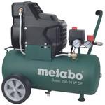 Безмасляный компрессор metabo basic250-24wof 601532000