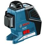 Линейный лазерный нивелир bosch gll 3-80 p + bm1 новый + lr2 в l-boxx 0.601.063.30a