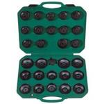 Комплект чашек для съема масляных фильтров 65-120 мм, 30шт jonnesway ai050004a 47556