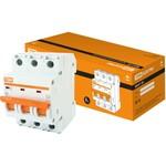 Автоматический выключатель tdm ва47-29 3р 10а 4.5ка с sq0206-0107