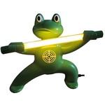 Стационарный отпугиватель насекомых в виде лягушки-мастера кунг-фу экоснайпер ge-4 kungfu frog