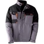 Куртка kapriol kavir цвет серый с черными вставками р. l 31350