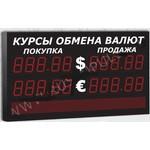 Импульс-311-2x2xZ5-S8x96-EB2 Уличное табло курсов валют