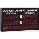 Импульс-311-2x2xZ5-S8x96-EY2 Уличное табло курсов валют
