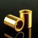 8mm brass sliders 2 pcs