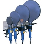 Dytron Ручные сварочные зеркала для сварки полиэтиленовых труб встык Dytron POLYS P-4a LUX 1500W/d250 mm blueс зажимом для стола